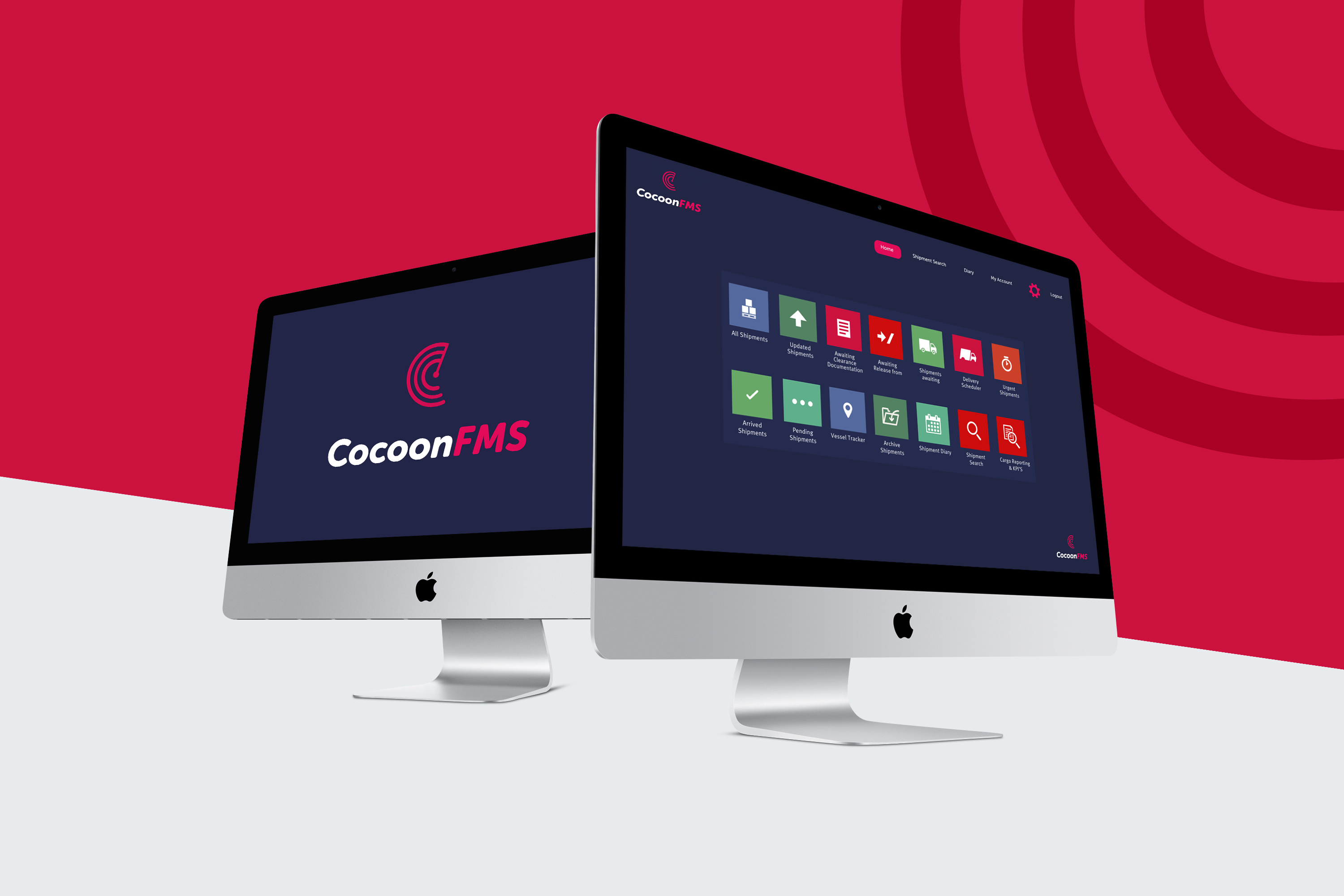 FCL Global Logistics choose CocoonFMS for their online visibility